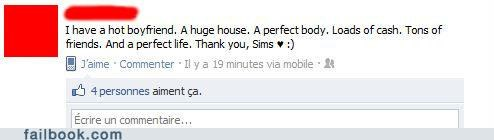 in your dreams life perfect Sims video games