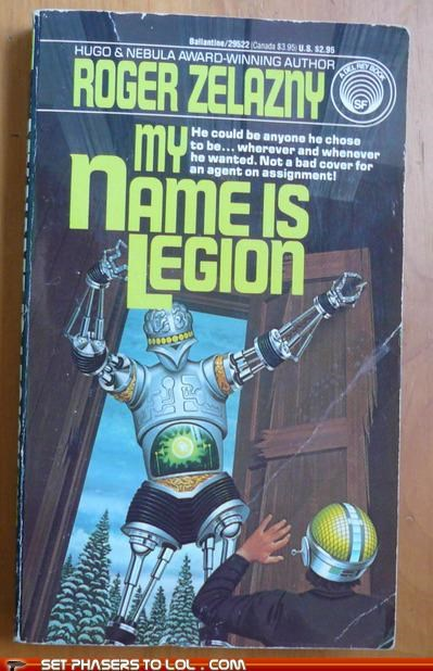 books cover art legion robot science fiction weird wtf - 5394234368