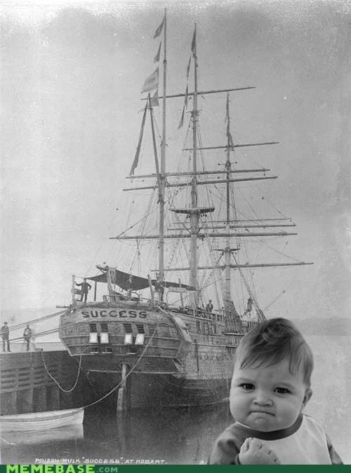 convict pirates ship success kid - 5394295808
