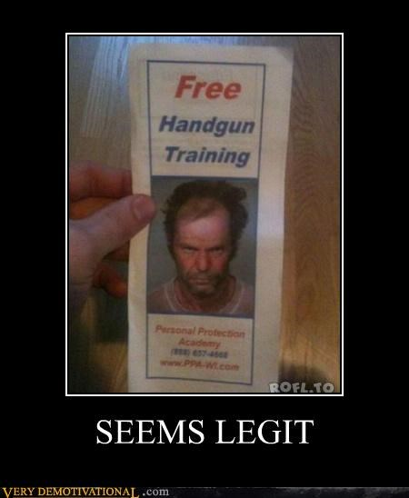 free handgun pamphlet Terrifying training - 5394303744