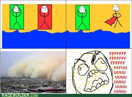 beach Rage Comics sand sandstorm - 5394322176