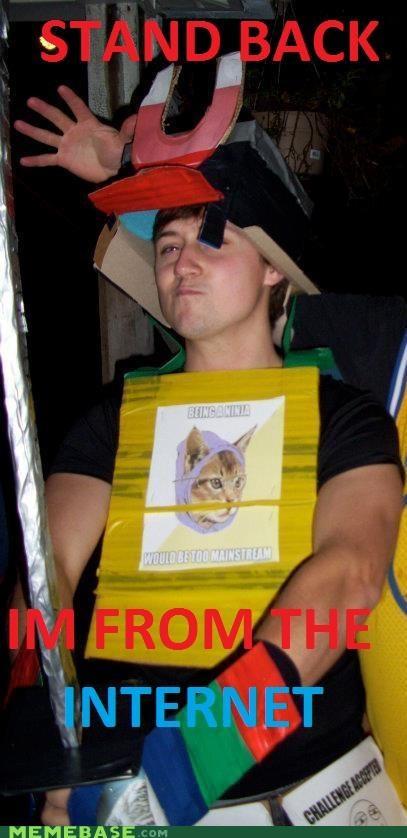 Hipster Kitty internet magnet memuria ninja - 5394569216