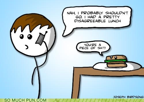 disagreeable double meaning Hall of Fame literalism lunch sandwich - 5394597888