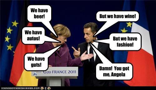 angela merkel france Germany Nicolas Sarkozy political pictures - 5394602496