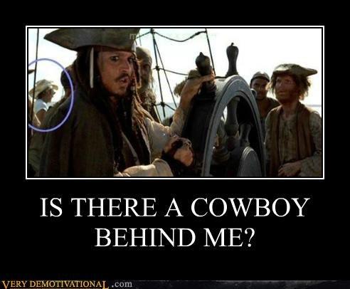 cowboy hilarious jack sparrow Johnny Depp pirates wtf - 5394691584