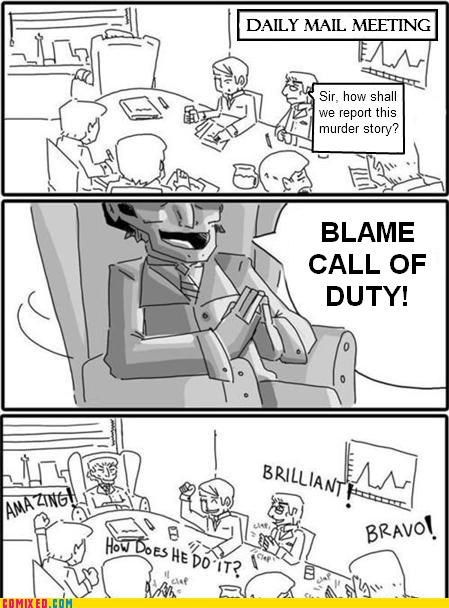 brilliant call of duty Daily Mail headquarters logic video games - 5394780672
