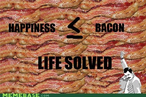 bacon equation happiness life math me gusta philosophy solved win - 5394808832