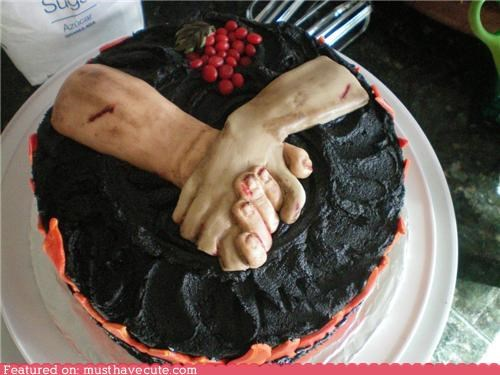 berries book cake epicute hands hunger games - 5394817792