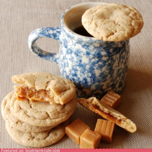 apple cide best of the week caramel cookies epicute gooey stufffed - 5394836480