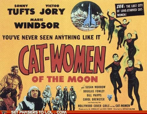 bad movies Cats cat-women of the moon moon movies review science fiction