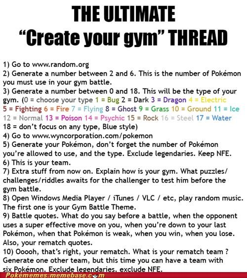 awesome,best of week,create,create your own,gym,gym battle,IRL,Pokémon,thread