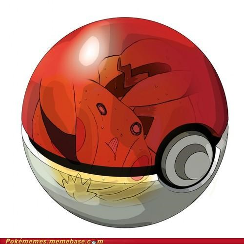 pikachu pokeball Pokémans see through uncomfortable xray - 5394950144