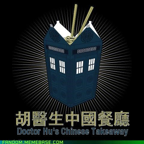 best of week chinese takeaway doctor who Fan Art takeout - 5395094784