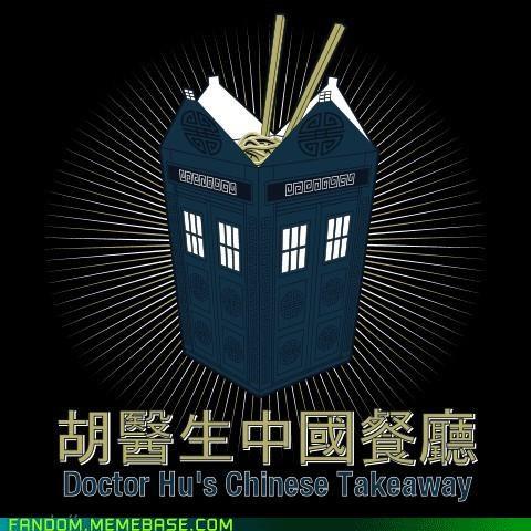 best of week chinese takeaway doctor who Fan Art takeout