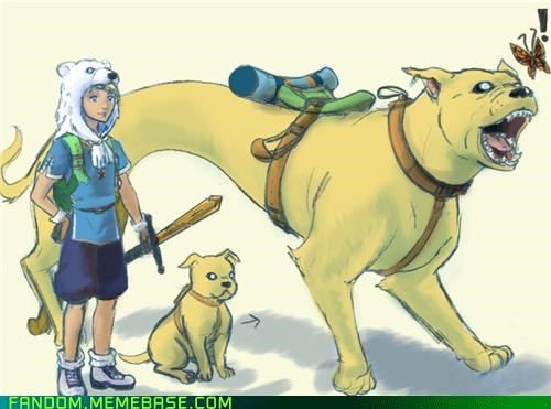 adventure time cartoon network Fan Art finn and jake realistic - 5395102208