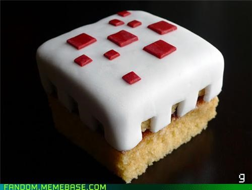 cake It Came From the Interwebz minecraft noms video games - 5395135744