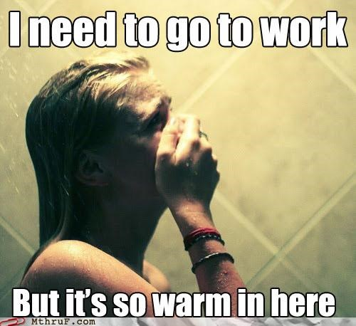 First World Problems,macro,reluctant,shower,warm,white people problems