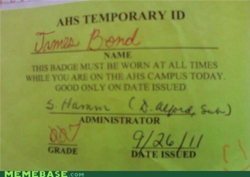 007 id IRL james bond - 5395217664
