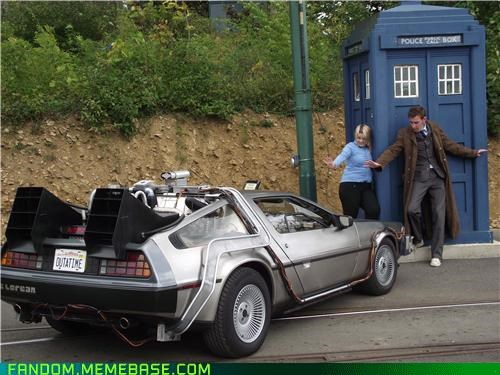 as seen on tv awesome back to the future best of week DeLorean doctor who tardis