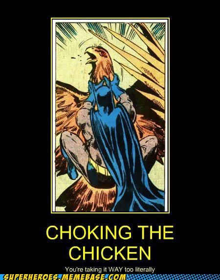 batman bird chicken choking slang Super-Lols - 5395277568
