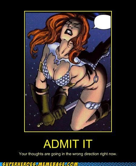red sonja Sexy Ladies Super-Lols wtf - 5395319040