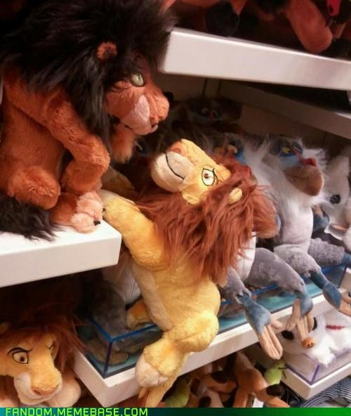 It Came From the Interwebz,mufasa,Plush,Sad,scar,the lion king