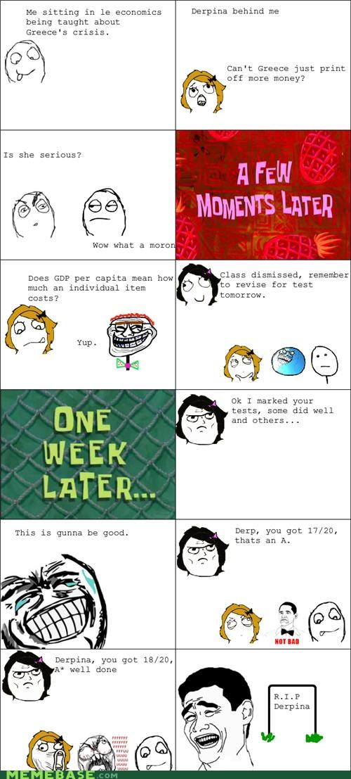 dumb Economics Rage Comics test - 5395415040