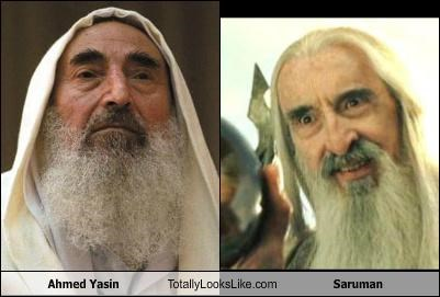 ahmed yasin Christopher Lee funny saruman TLL - 5395532032