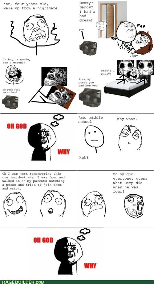Awkward parents Rage Comics sexytimes