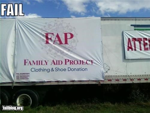 acronym,charity,failboat,fap,innuendo