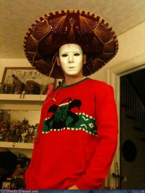 mask nightmares sombrero Terrifying - 5396015616