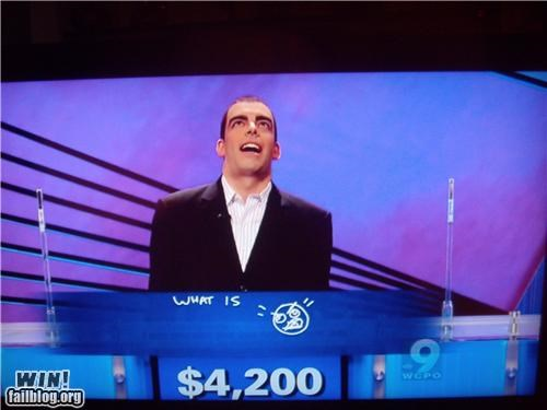 Jeopardy meme memes IRL rage face television - 5396177920