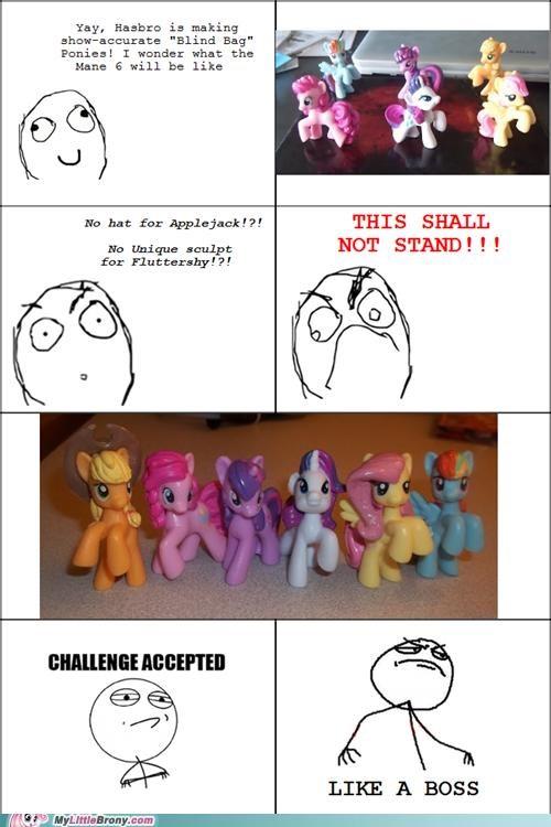 comics figurines Hasbro ponies rage comic toys - 5396973568