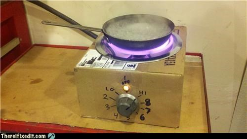 Dangerous box stove