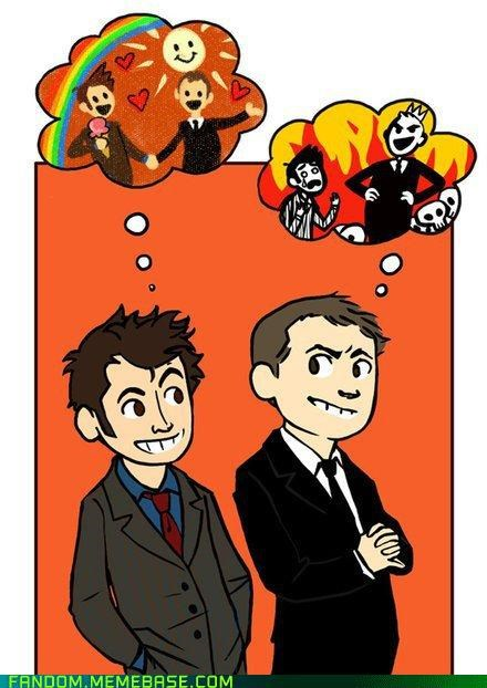 cute doctor who Fan Art the master - 5397150464