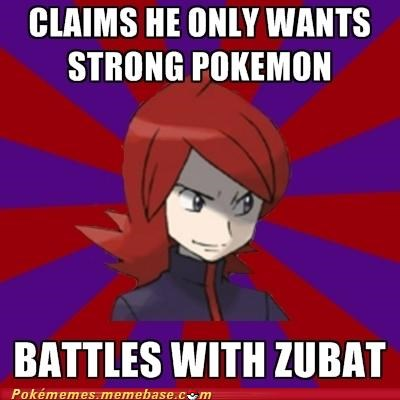 meme Memes pokemon champion youre-doing-it-wrong zubat - 5397187072