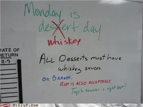 alcohol dessert drinking food whiteboard