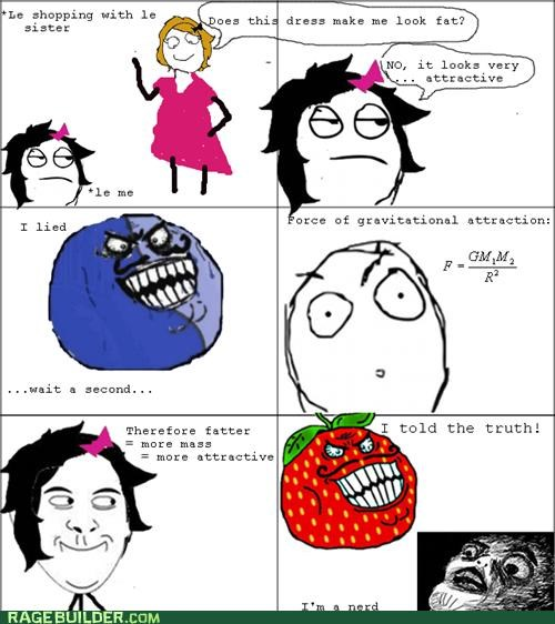 best of week,fat,Rage Comics,strawberry guy,truth