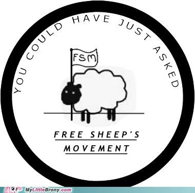 applejack free-sheeps-movement herd sheep sisterhooves special TV - 5398085888