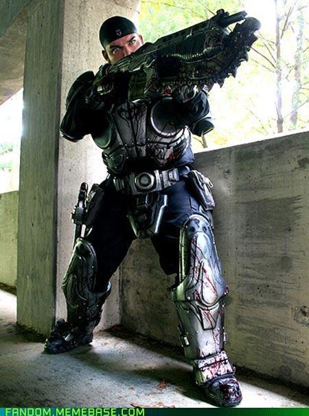 cosplay Gears of War marcus fenix vidoe games - 5398341888