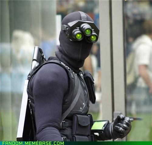 cosplay,Sam Fisher,Splinter Cell,video games