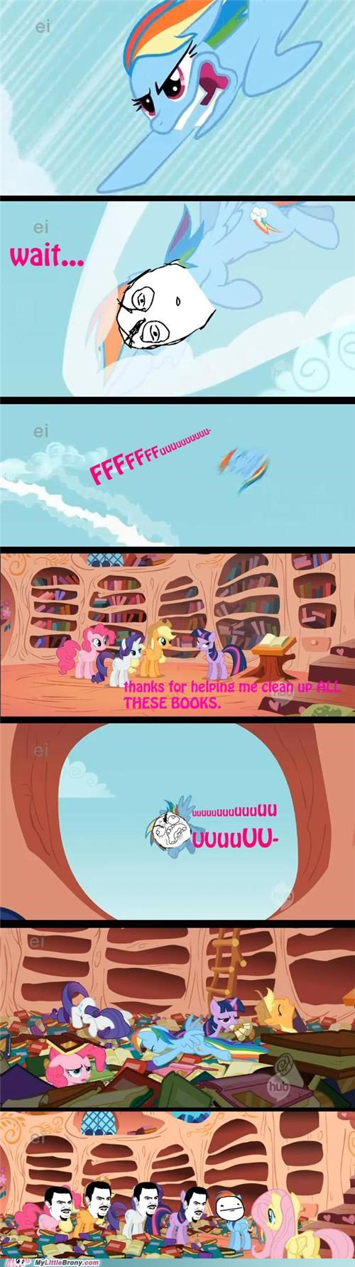 comic comics crash dafuq FUUUUU rainbow dash wait - 5398420480