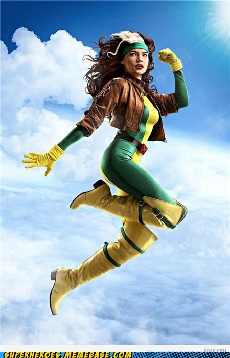 costume flying rogue Sexy Ladies Super Costume - 5398460416