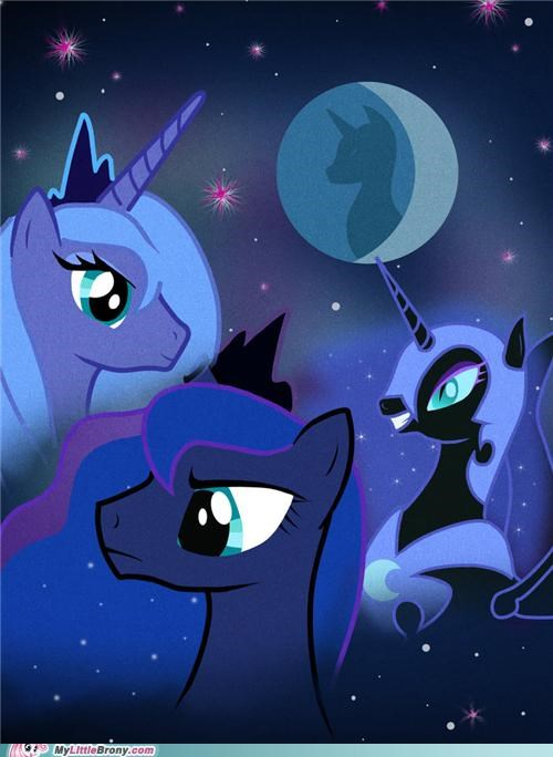 luna meme nightmare moon three luna rising three wolf moon - 5398522368