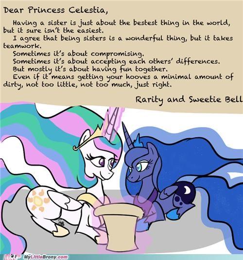 best of week luna ponies princess celestia rarity Sweetie Belle - 5398616832