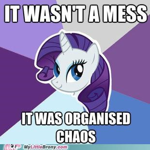 best of week meme organised chaos rarity Sweetie Belle - 5398724096