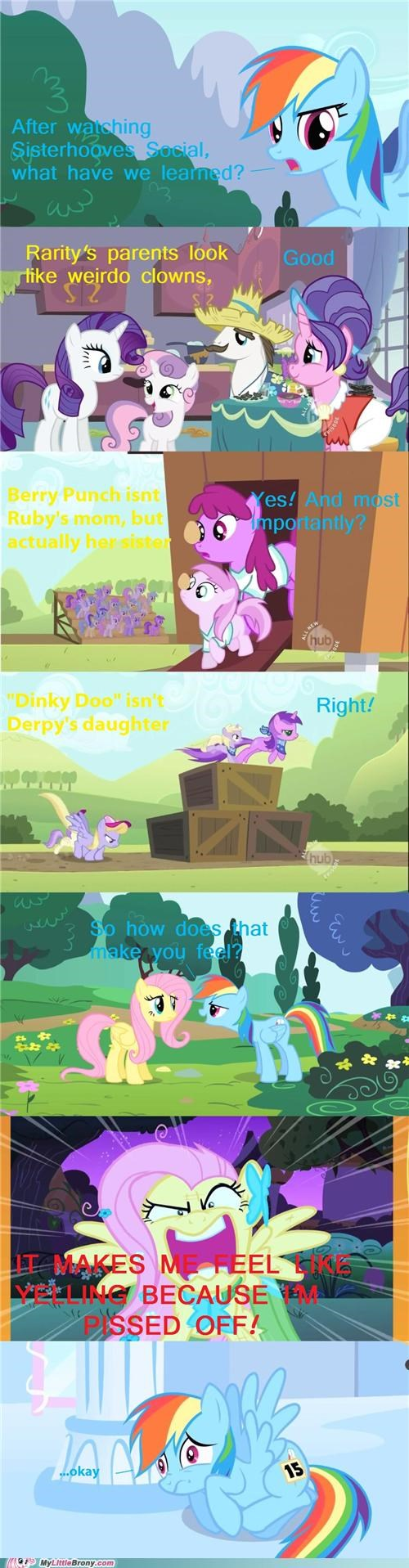 berry punch comics derp hooves nonsense rarity sisterhooves special Sweetie Belle - 5399208960