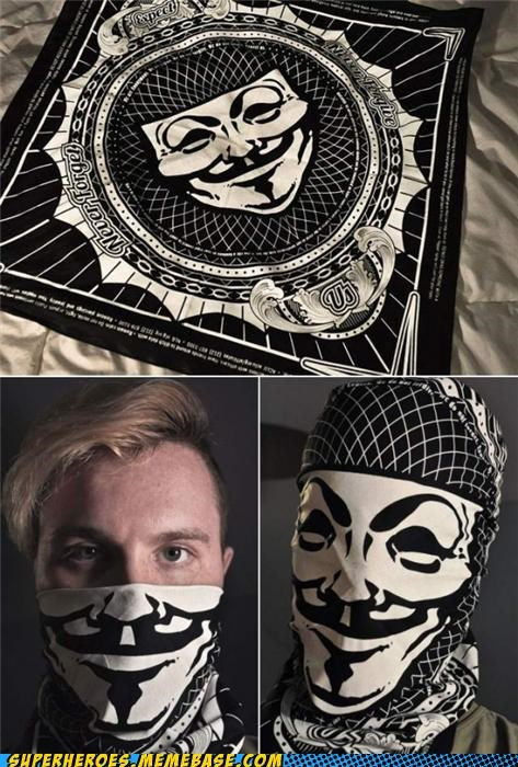 bandana guy fawks Random Heroics v for vendetta - 5399684608