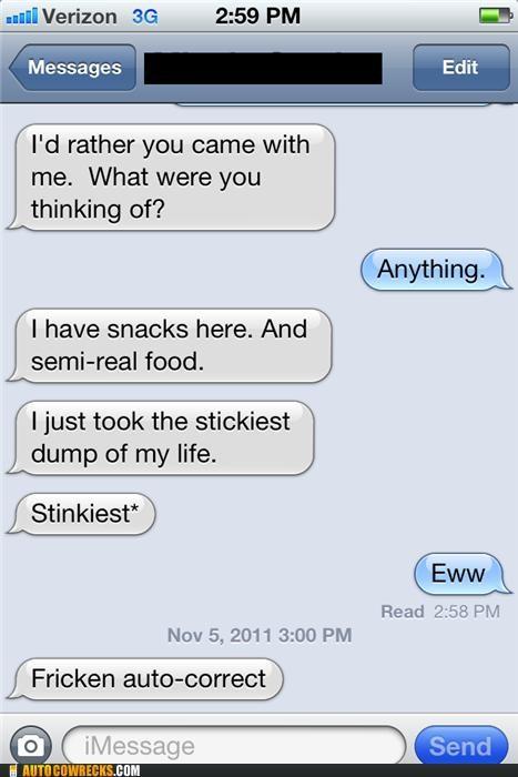 autocorrect snacks stickiest sticky stinkiest - 5399737088