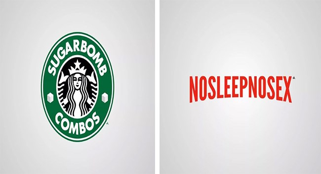 honest logos brands graphic design funny - 5400069
